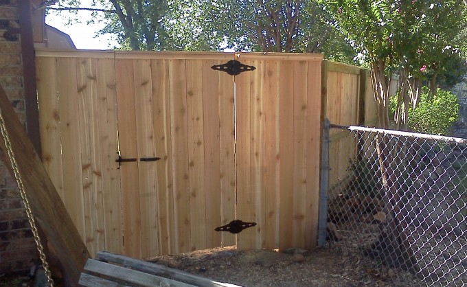 Broken Arrow Capped Gate 1