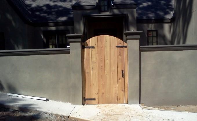 Cedar Entry Door