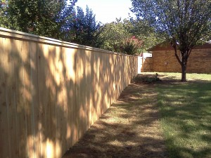 Capped or Picture Framed Privacy Fence
